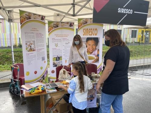 Forum de Mitry-Mory-stand du Siresco-4 septembre 2021